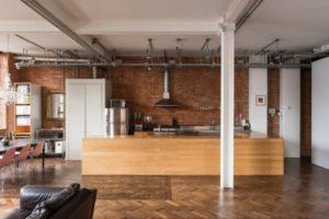 cozinha decorada no estilo industrial